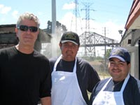 Anthony Bourdain at Calumet Fisheries